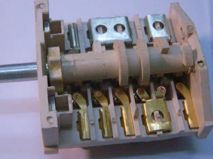 Переключатель на 6+5 контакта для электроплиты Flama