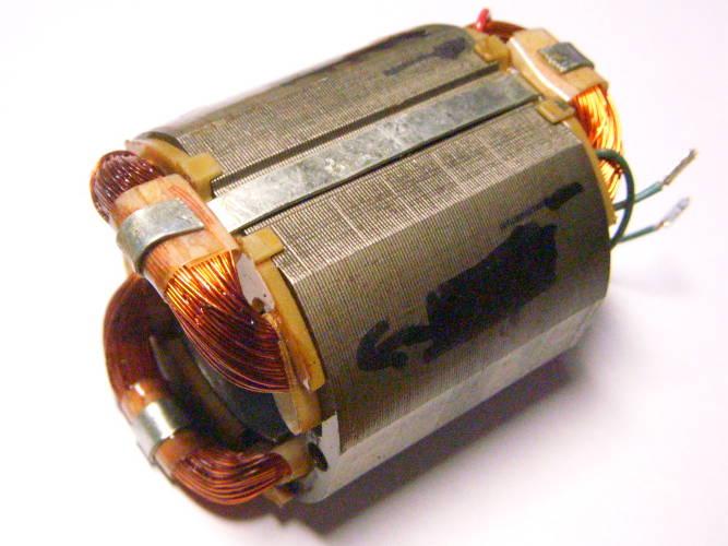 Статор двигателя болгарки DWT, Арсенал УШМ-125/1100