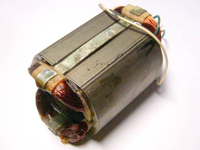 Ремонт статора d35-53*45-L55 для болгарки