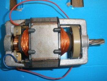 Двигатель электромясорубки Эльво 250 Вт под вал 8 мм