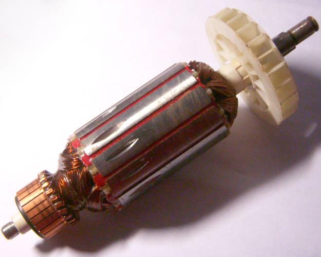 Якорь двигателя штробореза Stern WSM 1655 под 125-й круг