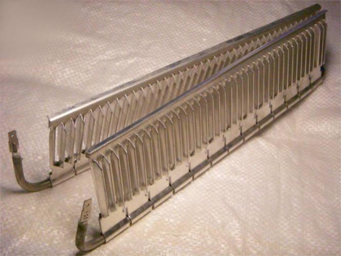Нагревательный электротэн конвектора длиной 360 мм