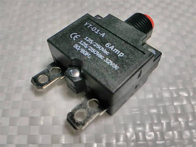 Тепловое реле YT-01-A на 6 Ампер AC/DC