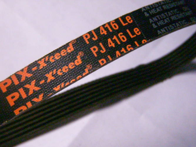 Шестиручейный ремень 6PJ416 для компрессора, мотоблока