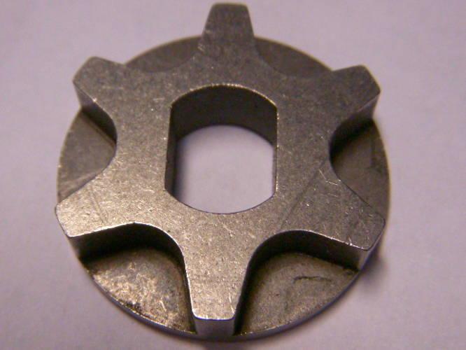 Шестизубая звезда d30-9*12-h7 для цепной электропилы