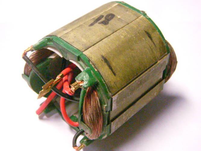 Статор d36.5*59-L40 для болгарки под якорь 35-36 мм