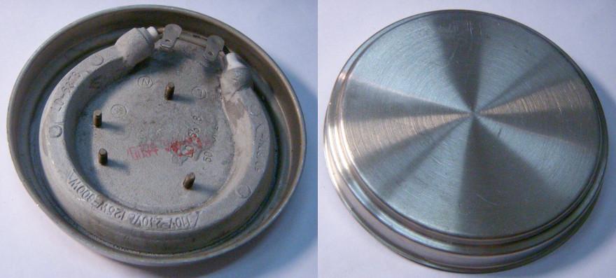 Дисковый миниатюрный нагревательный тэн чайника 95 мм