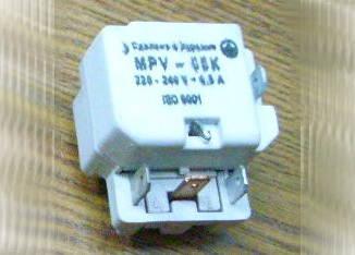 Пускозащитное реле MPV 0.5K для холодильника