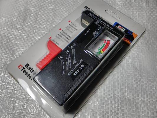 Прибор для тестирования аккумуляторов и батареек