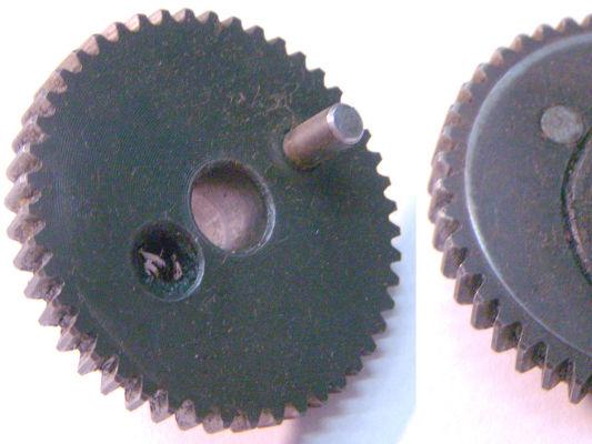 Шестерня электролобзика 50*10-h6-19 Z46