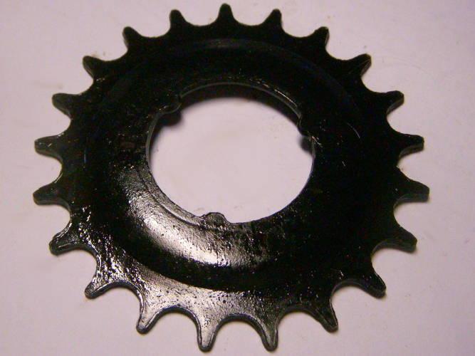 Велосипедная звезда на 21 зуб посадкой на 37 мм