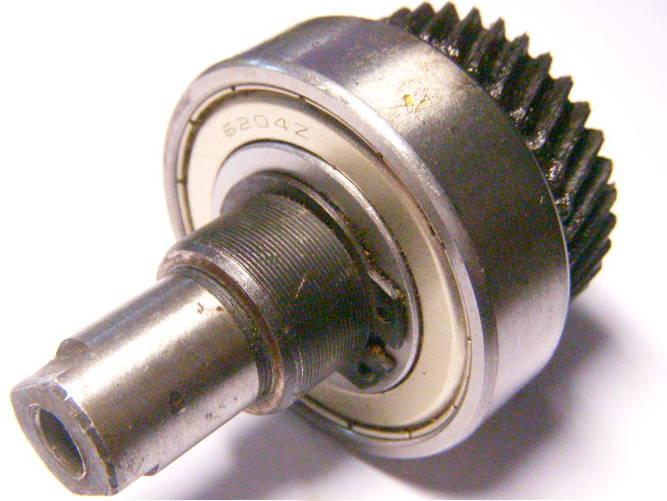 Вал в сборе для дисковой электропилы под якорь 52 мм