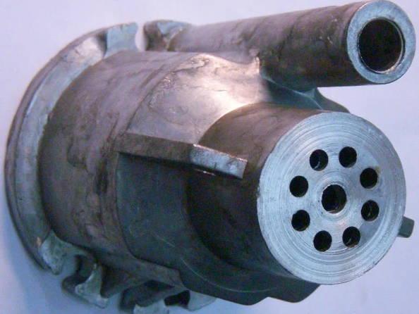 Верхняя крышка погружного насоса НИВА с верхним забором