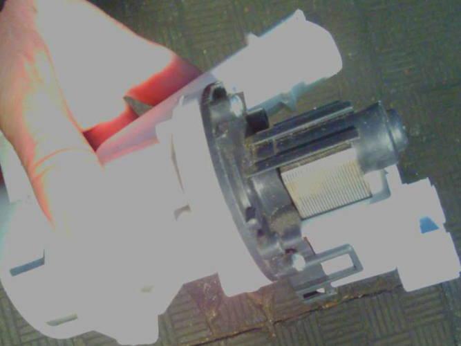 Насос в сборе с двигателем для стиральной машины Siemens