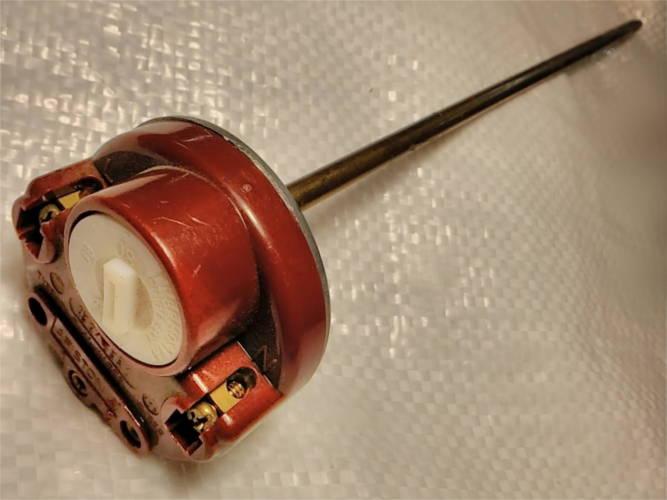 Круглый штыревой 26 см терморегулятор для водонагревателя
