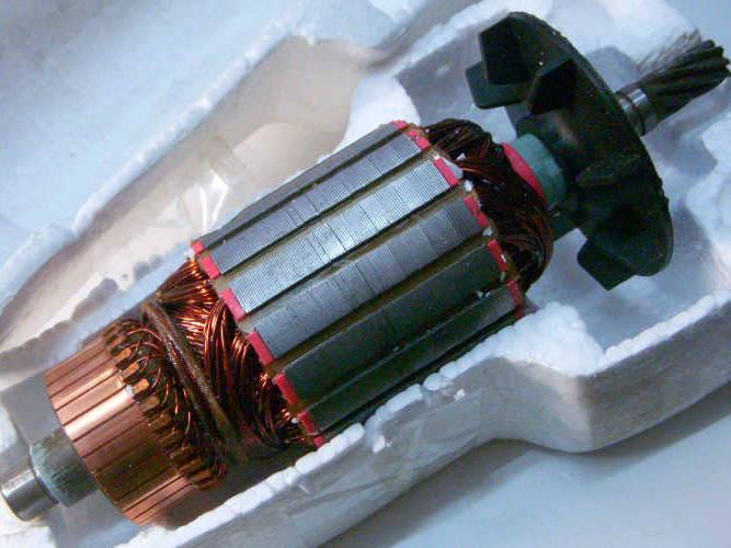 Якорь 54 мм для дисковой пилы Rebir KZ, IE 5107 G2