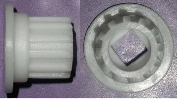Втулка шнека электромясорубки Vitek со ступенькой