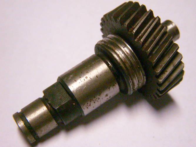 Вал в сборе для цепной электропилы Rebir KZ1-350,450