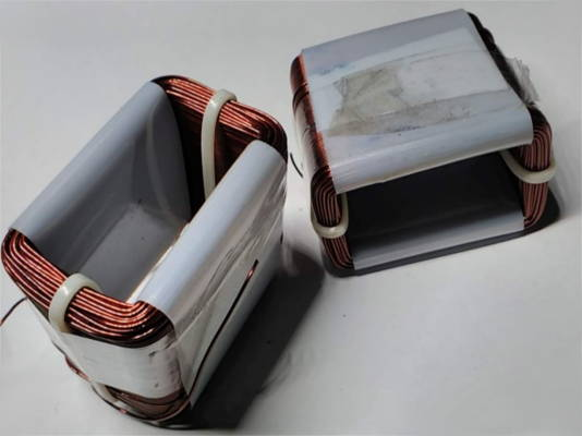 Электромагнитные катушки электрической части вибронасоса Ручеёк
