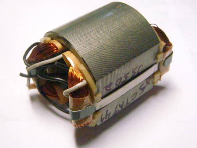 Статор d32.5*58*L44-w47*58 для электролобзика Ижмаш 1350Вт