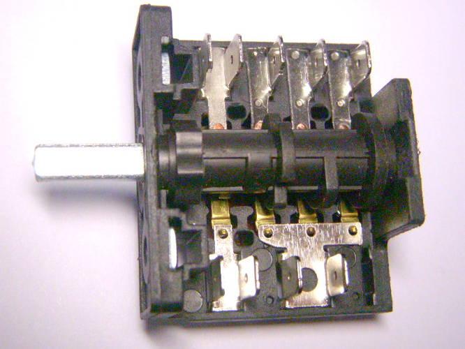 Шестипозиционный переключатель 4*(3+1) режимов электроплиты