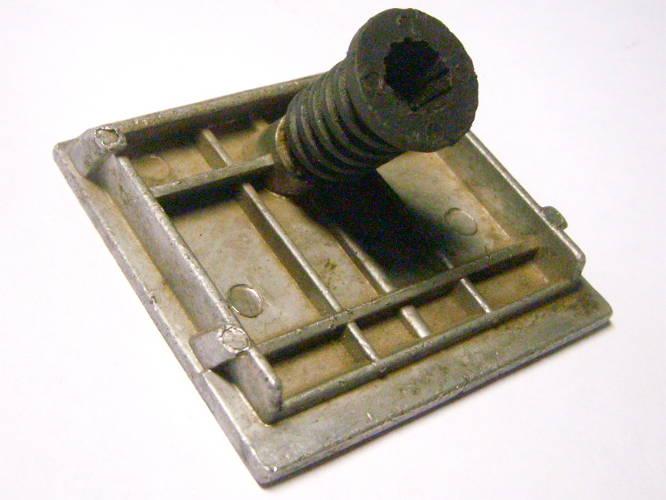 Регулировочная подошва рубанка размером 79*81 мм