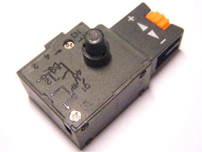 Универсальная кнопка на 3.5 Ампера для Российских электродрелей