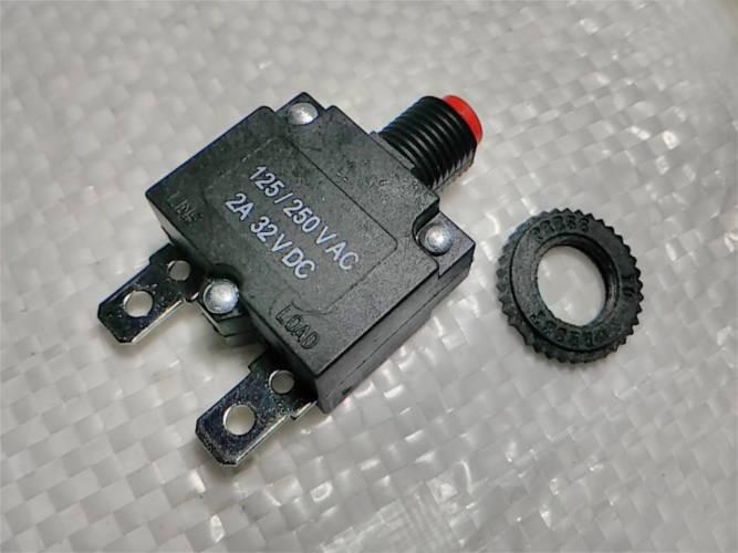 Тепловой отсекатель HT-01-A на 2 Amp AC/DC