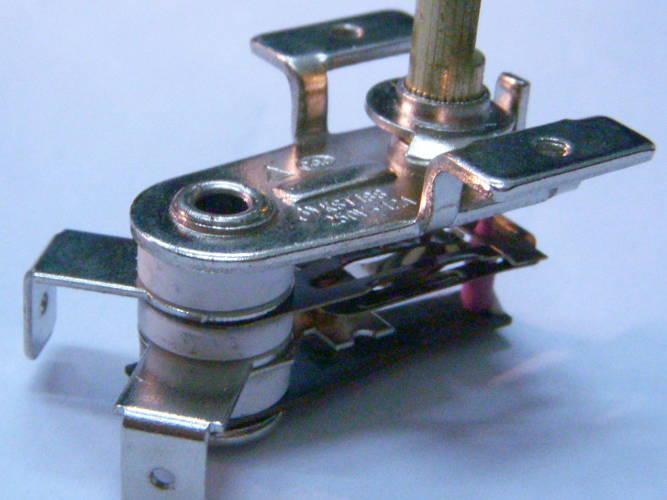 Биметаллический терморегулятор 12A KST-188 для электрокамина, конвектора Timberk, Colore
