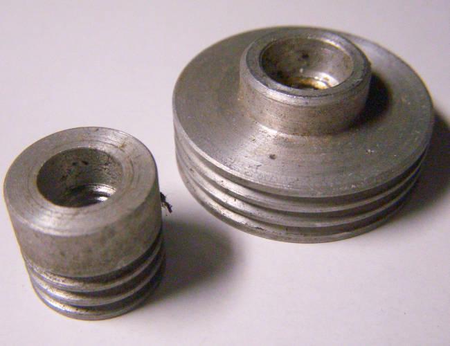 Комплект шкивов 31 и 15 мм рубанка под 3-х ручейный ремень