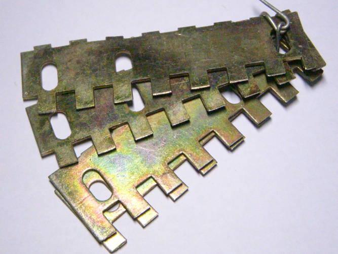 Комплект ножей диска Винницкой корморезки