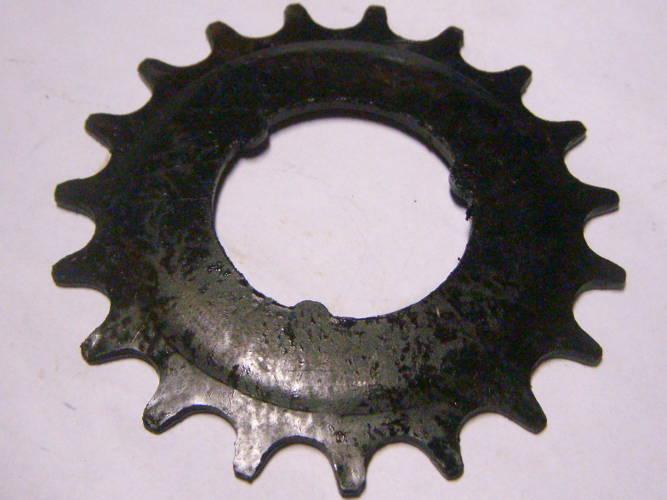 Велосипедная звезда цепной передачи на 19 зубов