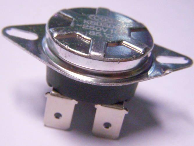 Термостат KSD306 85°C на 16 Ампер для электроводонагревателя