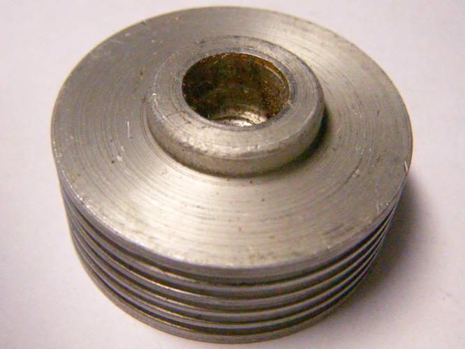 Шкив 38*М8 электрорубанка под пятиручейный ремень