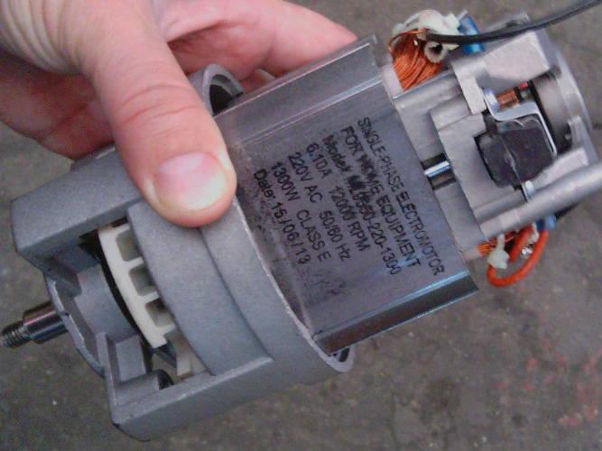 Двигатель для кормоизмельчителя Ярмаш, Хрюша, Бизон, Green-Tech