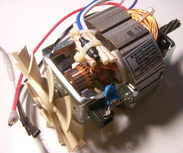Электродвигатель мясорубки Orion, Delfa, Scarlett SC-4249