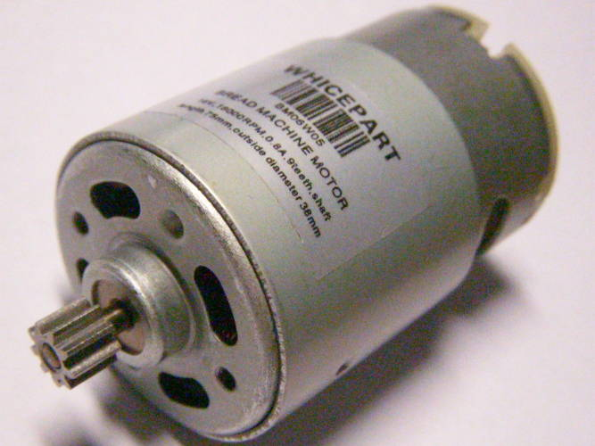 Электродвигатель d38 для шуруповерта Titan на 18 Вольт