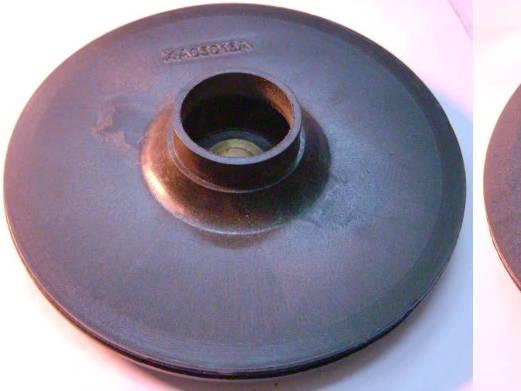Рабочее колесо 128*12*33 на шпонке для насоса Pedrollo
