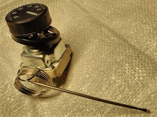 Шестиконтактный профессиональный терморегулятор 50-320°C для многофункциональных электропечей