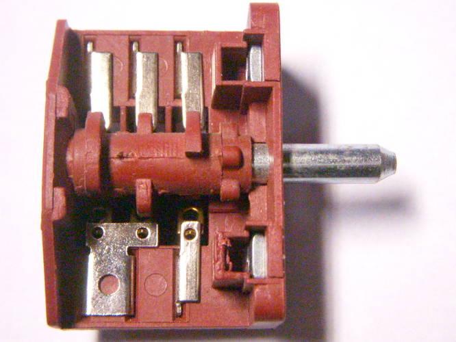 5-ти позиционный переключатель Tibon 16A T125 10E3 для электроплиты Luxell, Liberton