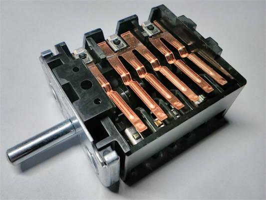 Семипозиционный переключатель EGO 46.27266 500 для конфорочной электроплиты