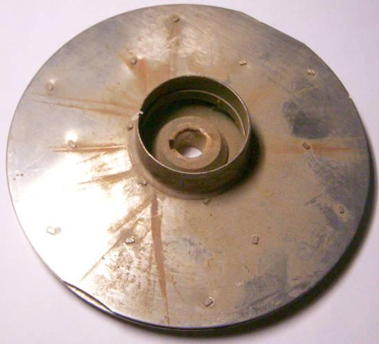 Рабочее колесо 135*12*40-h5 из нержавеющей стали для насоса Pedrollo