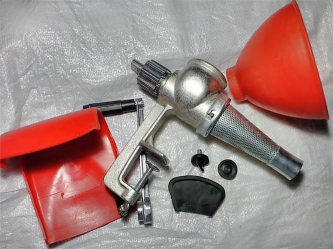 Копия ручной чугунной соковыжималки Мотор Січ СБЧ-1
