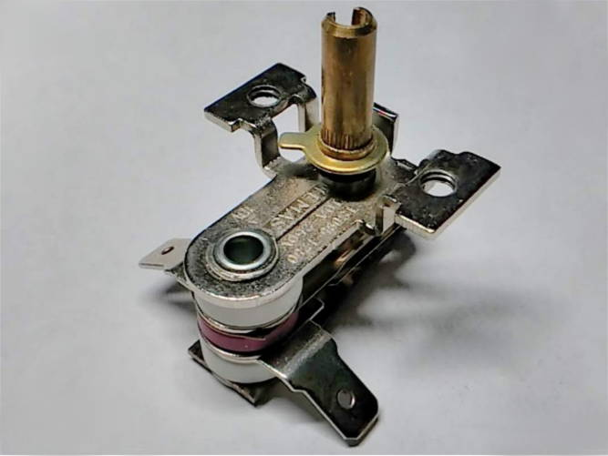 Биметаллический терморегулятор 10A для электродуховки VIMAR VEO-4655, -55100, -3725, -2203