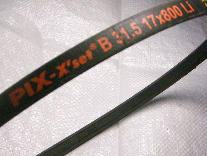 Качественный клиновой ремень PIX B31,5 17*800Li