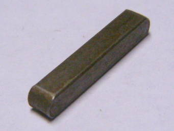 Прямоугольная шпонка 17.5*3*3 для электропилы, перфоратора