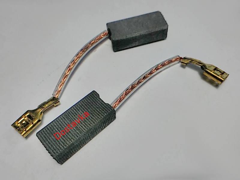 Щетки 6*10 h15 автостоп провода мама для болгарки