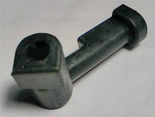 Г-образный маслобензостойкий патрубок 37 мм