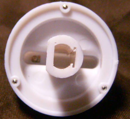 Ручка 37 мм для газовой колонки Русь