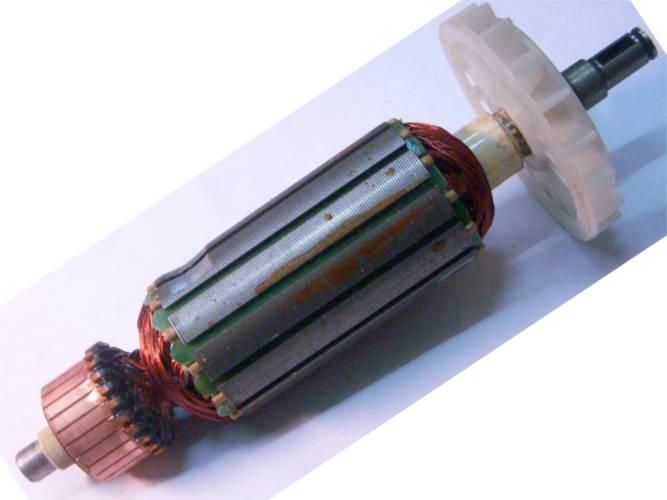 Якорь L163*d35-L135 для болгарки FALON-TECH, Ритм 1050/125, DWT 125SL